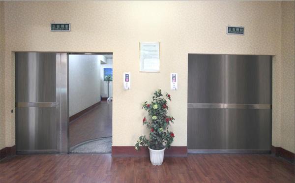 直线加速器治疗室防护门1